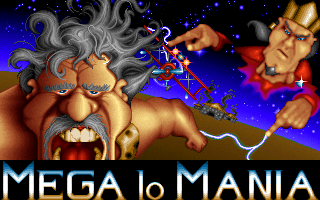 Mega lo Mania old DOS game