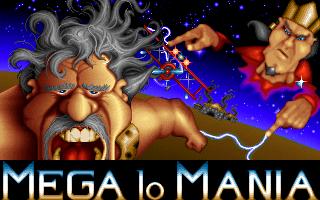 Mega lo Mania old DOS game