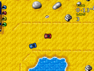 Micro Machines: 2 Turbo Tournament old DOS Game