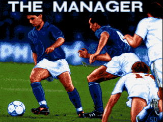 The Manager old DOS game