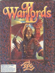 Warlords 2 old DOS Game Box Cover Art