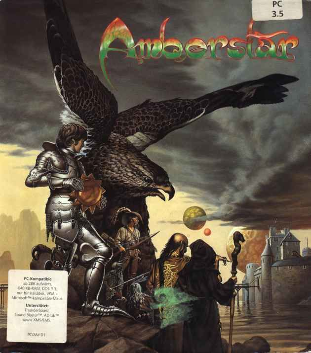 Amberstar Game Box Cover Art