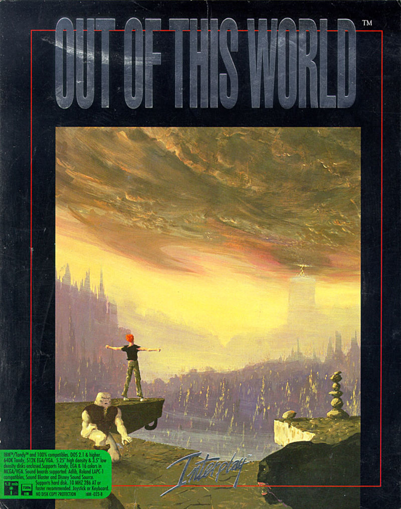 Another World Game Box Cover Art