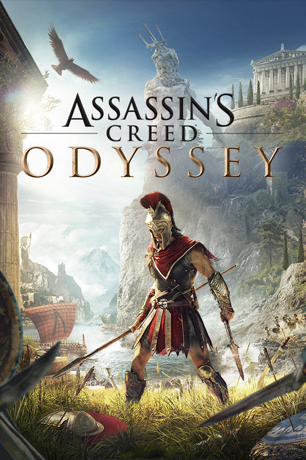 Assassin's Creed Odyssey PC Game Box Cover Art
