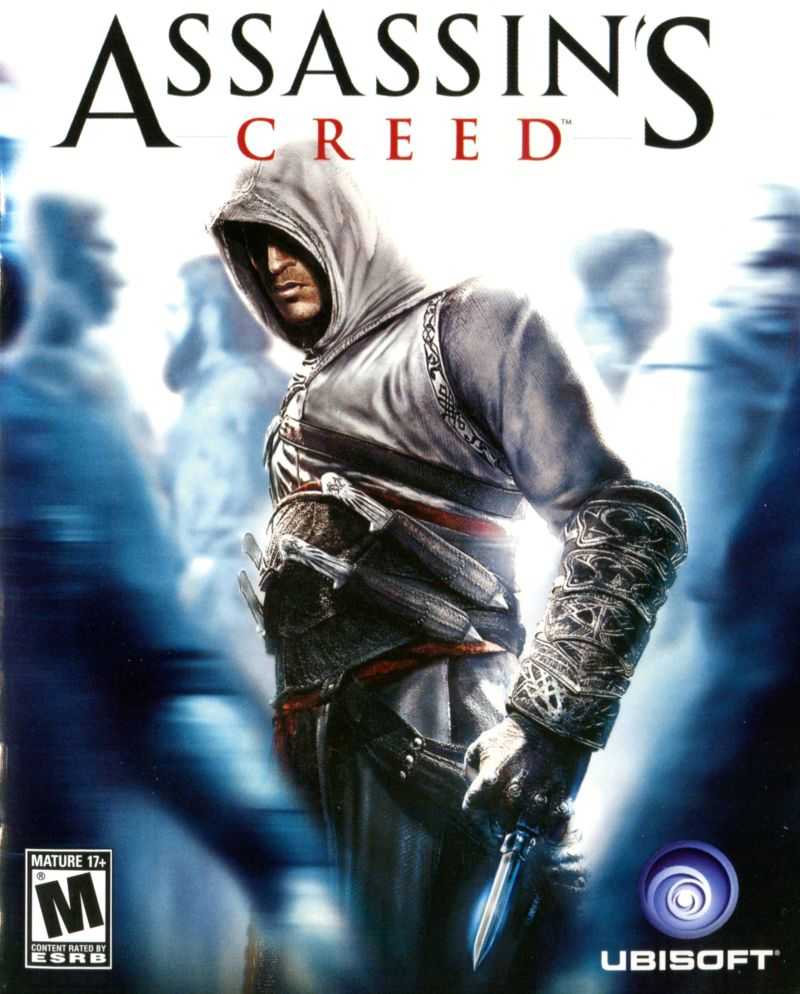 Assassin's Creed PC Game Box Cover Art