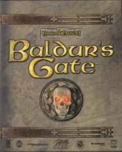 Baldur's Gate old DOS game