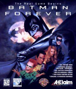 Batman Forever Game Box Cover Art