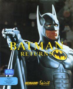 Batman Returns old DOS game 1992