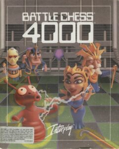 Battle Chess 4000 old DOS game