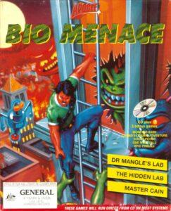 Bio Menace old DOS game