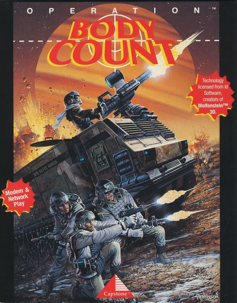 Body Count Game Box Cover Art