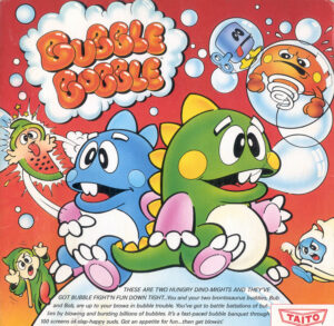 Bubble Bobble old DOS game