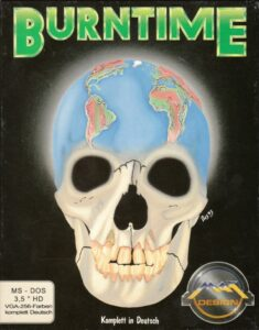 Burntime old DOS game