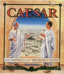 Caesar old DOS game