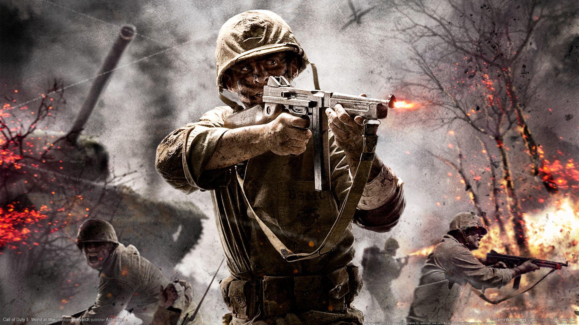 Call of Duty World at War Wallpaper HD 1