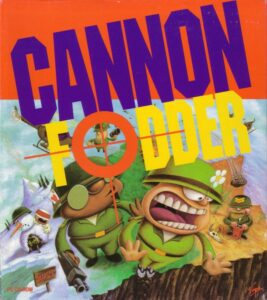 Cannon Fodder old DOS game