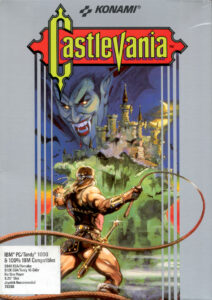 Castlevania Game Box Cover Art