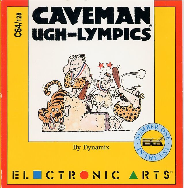 Caveman Ugh Lympics Game Box Cover Art