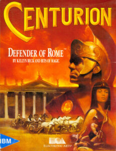 Centurion Defender of Rome Game Box Cover Art
