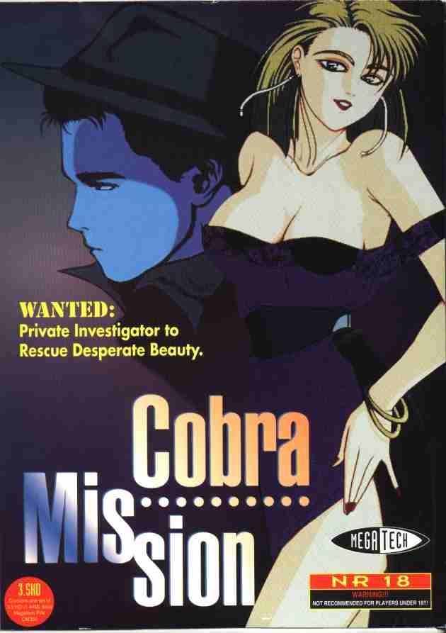 Cobra Mission Game Box Cover Art
