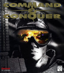 Command Conquer Special Gold Edition Game Box Cover Art