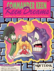 Commander Keen: Keen Dreams old DOS game