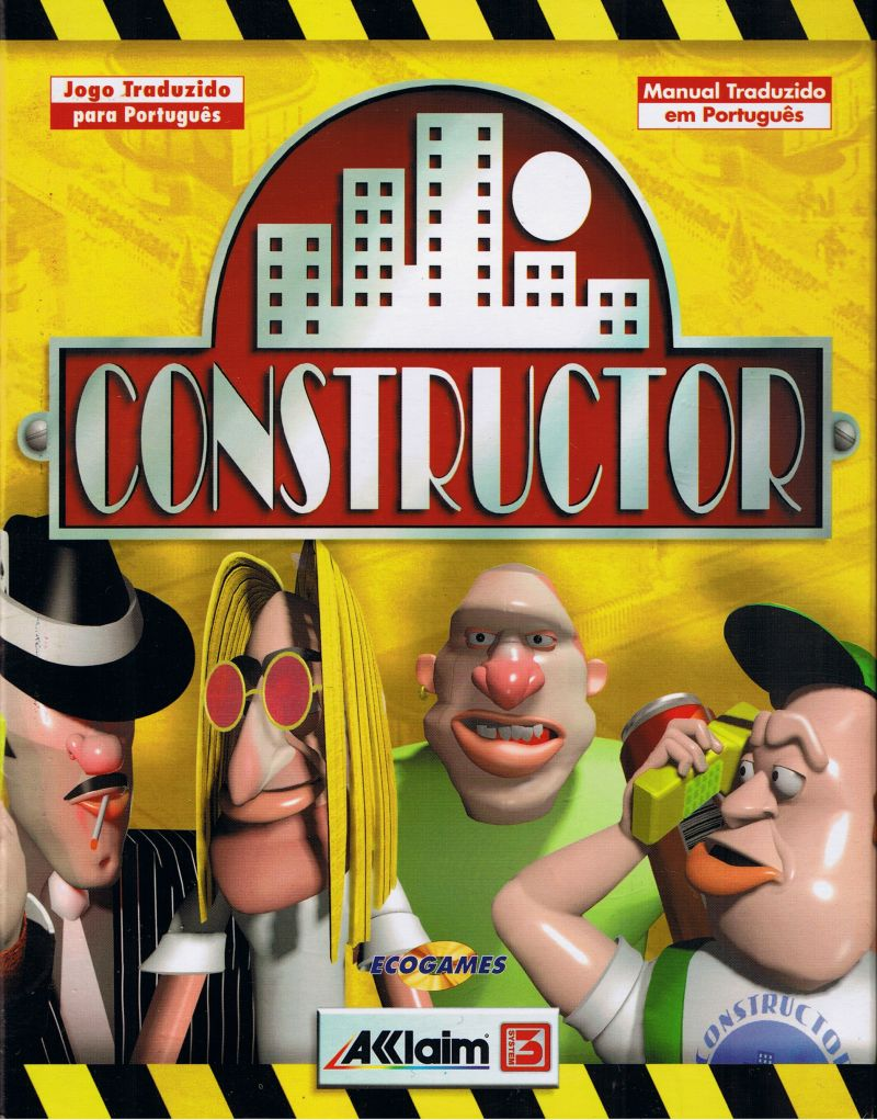 Constructor Game Box Cover Art