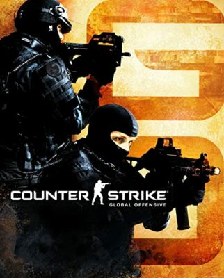 Counter-Strike Global Offensive PC Game Box Cover Art