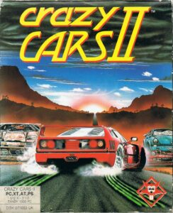 Crazy Cars 2 old DOS game
