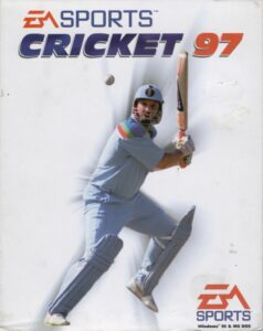 Cricket 97 old DOS game