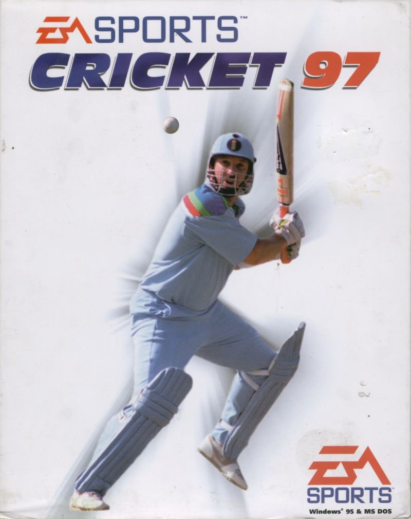 Cricket 97 Game Box Cover Art