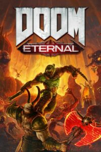 DOOM Eternal Game Box Cover Art