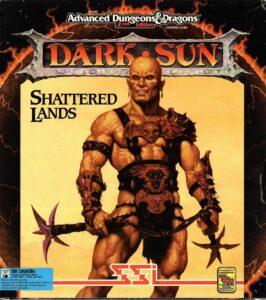 Dark Sun Shattered Lands Game Box Cover Art