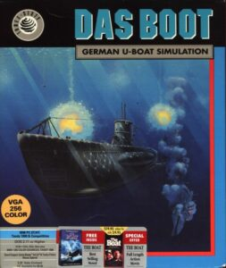 Das Boot: German U-Boat Simulation old DOS game