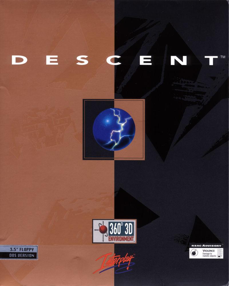 Descent Game Box Cover Art