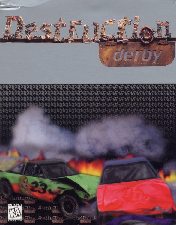 Destruction Derby Game Box Cover Art