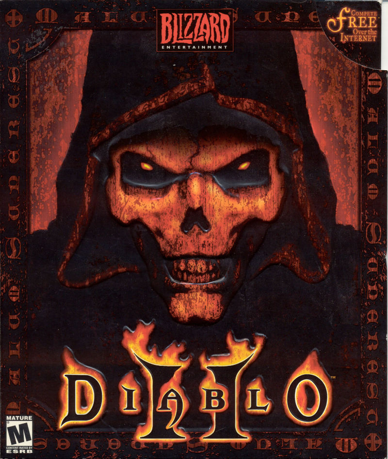 Diablo 2 Game Box Cover Art