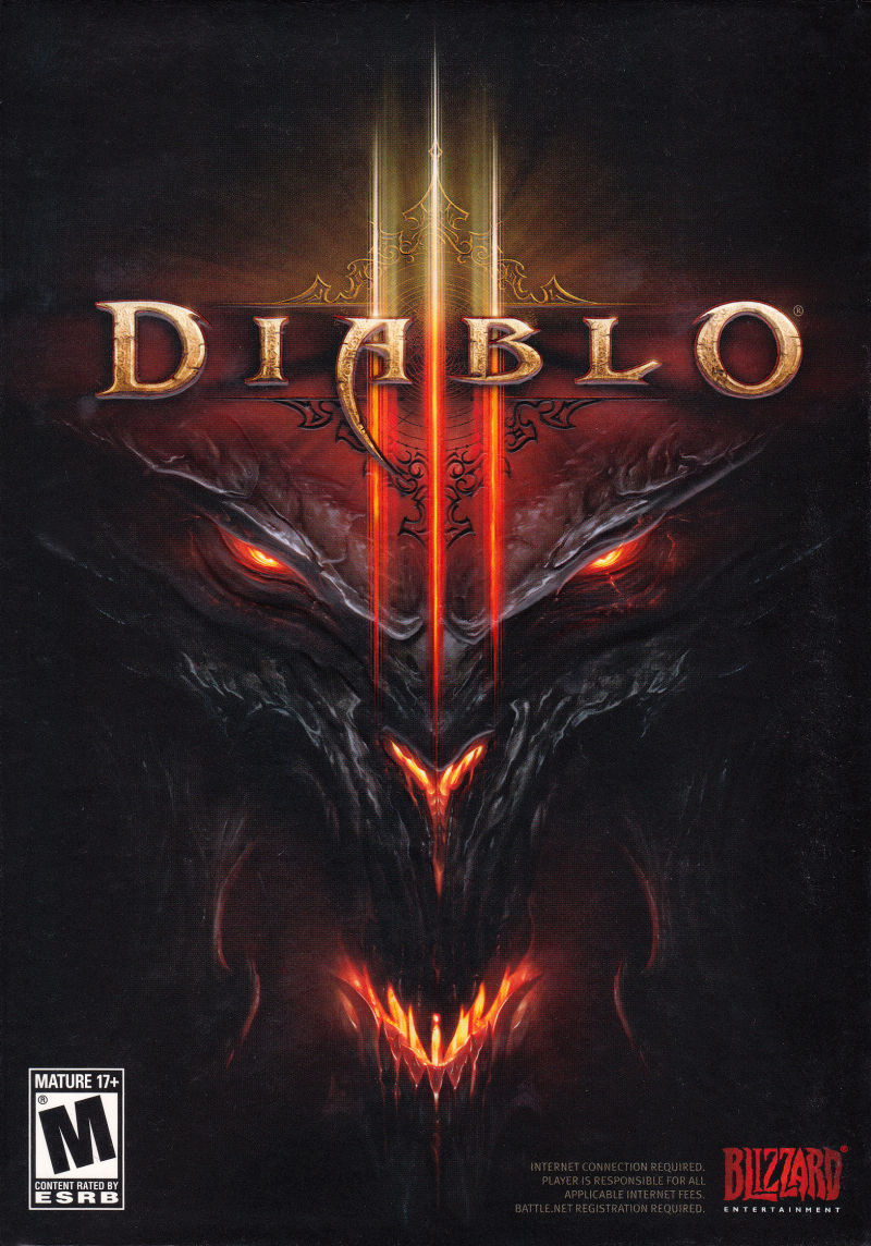 Diablo 3 Game Box Cover Art