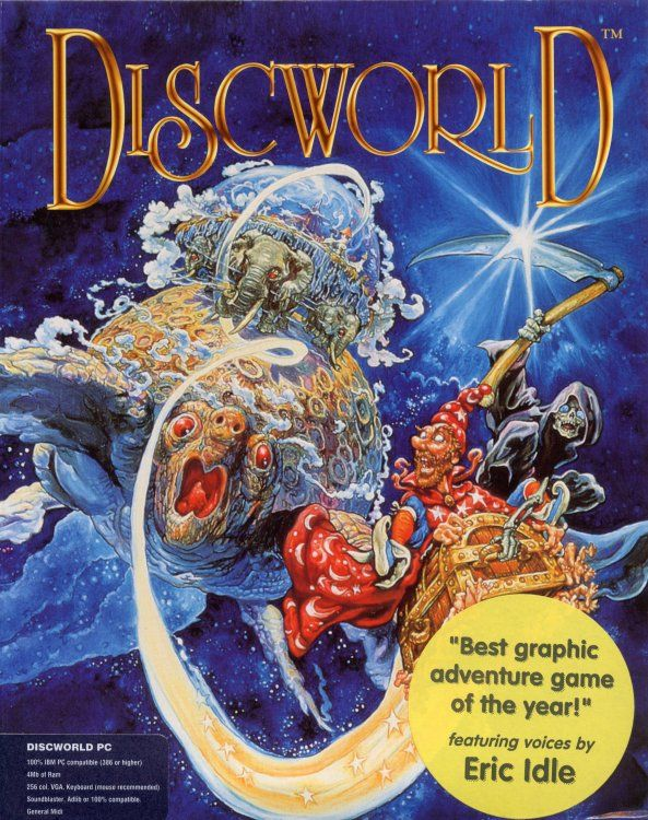 Discworld Game Box Cover Art