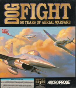 Dogfight 80 Years of Aerial Warfare Game Box Cover Art