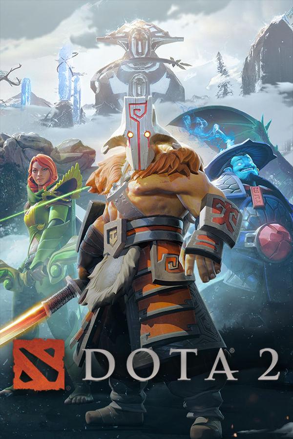 Dota 2 Game Box Cover Art