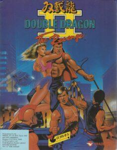 Double Dragon 2 The Revenge Game Box Cover Art