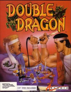 Double Dragon Game Box Cover Art