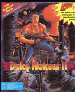 Duke Nukem 2 Game Box Cover Art