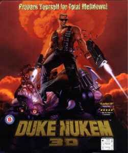 Duke Nukem 3D Game Box Cover Art