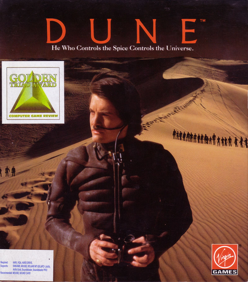 Dune Game Box Cover Art