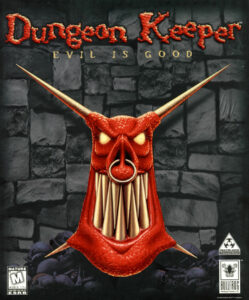 Dungeon Keeper Game Box Cover Art