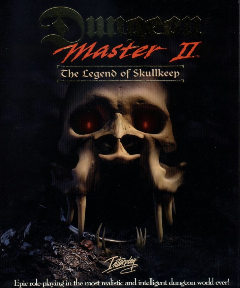 Dungeon Master 2 The Legend of Skullkeep Game Box Cover Art