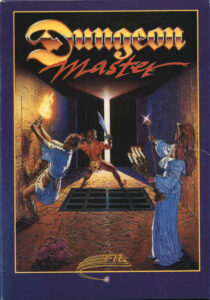 Dungeon Master Game Box Cover Art