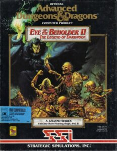 Eye of the Beholder II The Legend of Darkmoon Game Box Cover Art